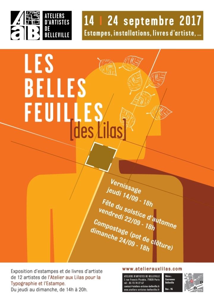 LesBellesFeuilles afficheA4